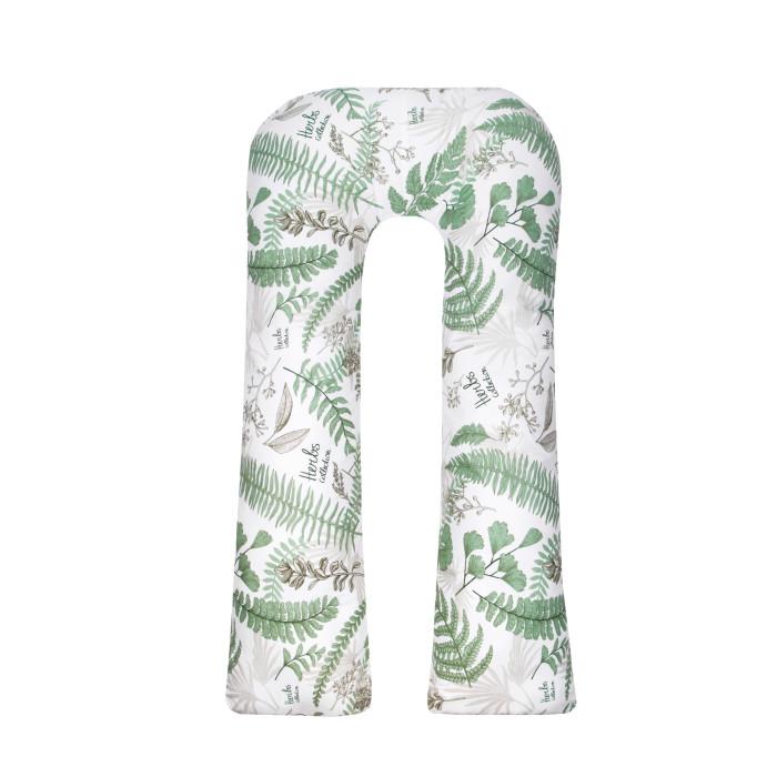 Купить Подушки для беременных, AmaroBaby Exclusive Soft Подушка для беременных Папоротники 340х35 см