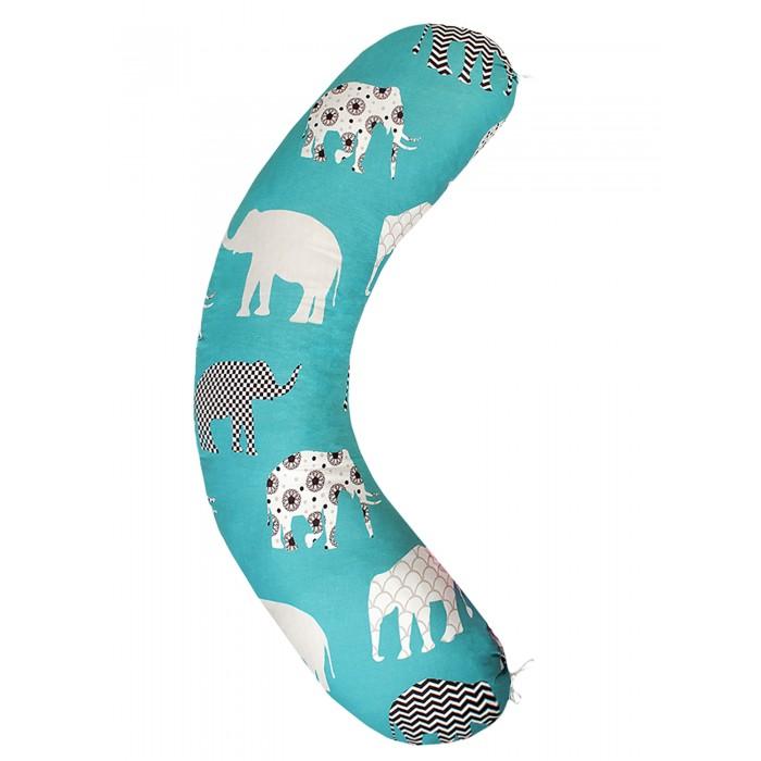 AmaroBaby Подушка для беременных Слоники 170х25 см