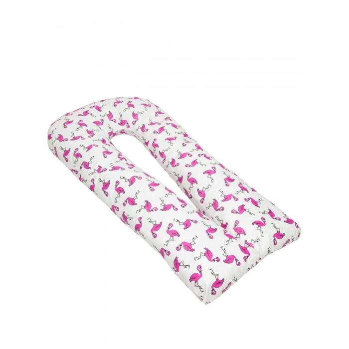 AmaroBaby Подушка для беременных U-образная Фламинго 340х35 см