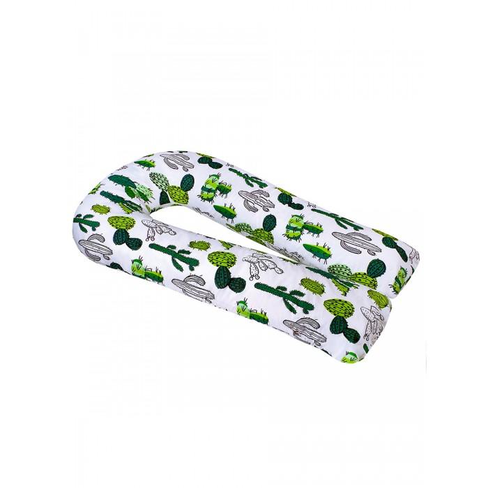 Купить Подушки для беременных, AmaroBaby Подушка для беременных U-образная Кактусы 340х35 см
