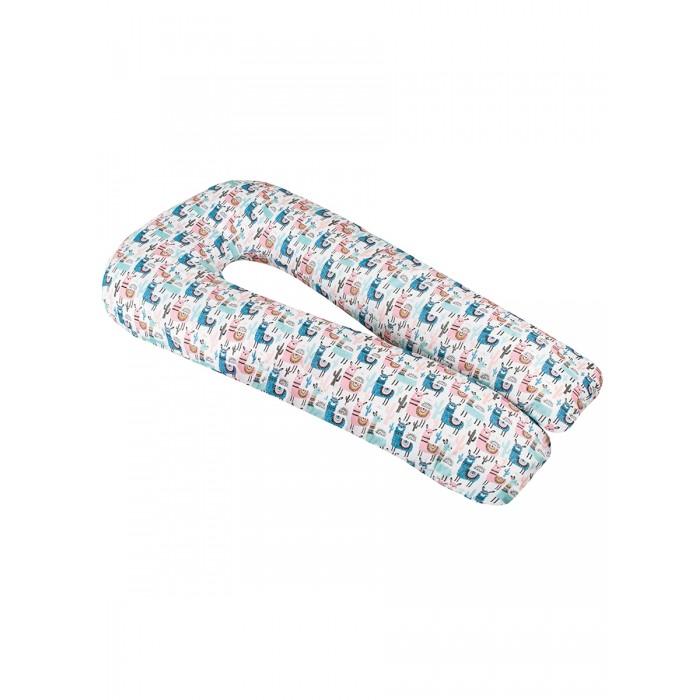 AmaroBaby Подушка для беременных U-образная Ламы 340х35 см