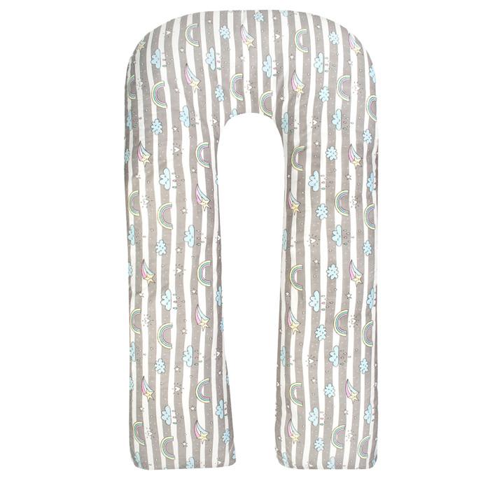 Купить Подушки для беременных, AmaroBaby Подушка для беременных U-образная Радуга 340х35 см