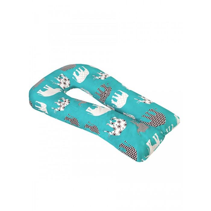 AmaroBaby Подушка для беременных U-образная Слоники 340х35 см фото