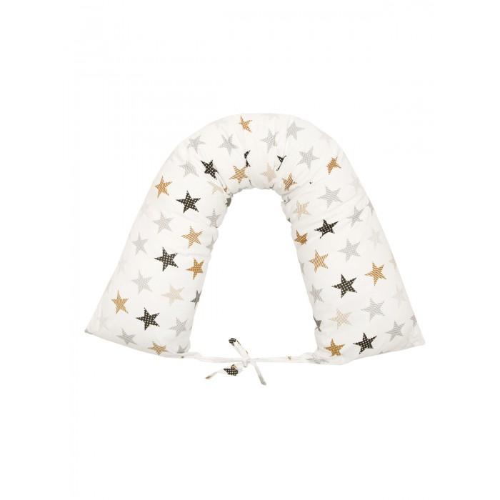 AmaroBaby Подушка для беременных валик Звезды пэчворк