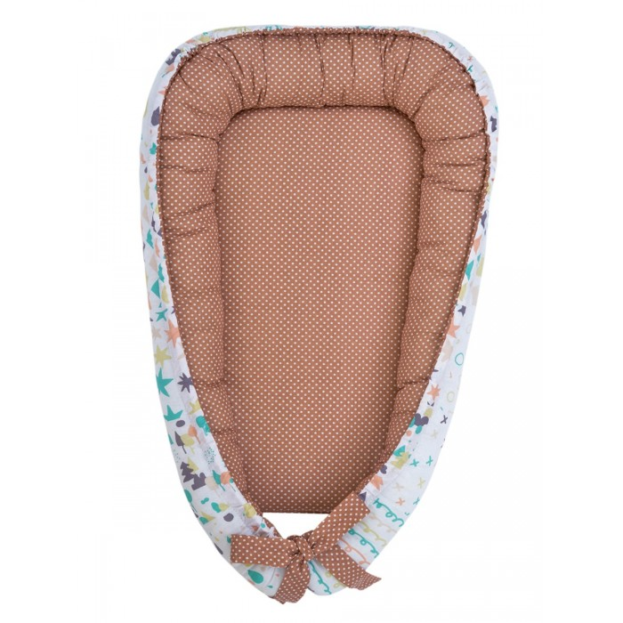 AmaroBaby Подушка-позиционер для сна Little Baby Абстракция Гнездышко-SB-Абстракция
