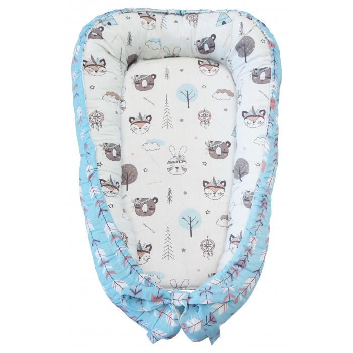 позиционеры для сна Позиционеры для сна AmaroBaby Подушка-позиционер для сна Little Baby Индейцы