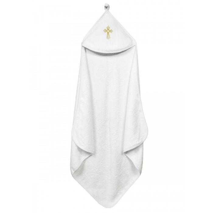 Крестильная одежда AmaroBaby Полотенце крестильное с уголком Little Angel 90х90 см