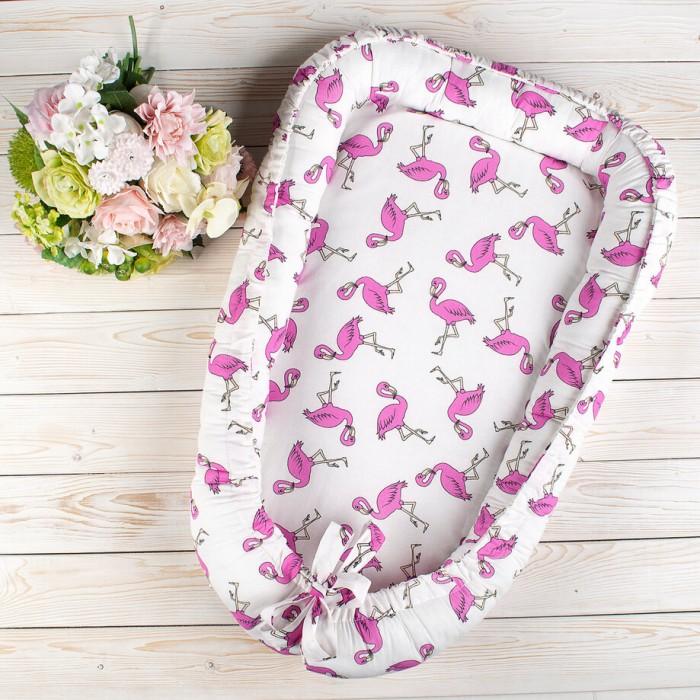 позиционеры для сна Позиционеры для сна AmaroBaby Позиционер для сна Little Baby Фламинго