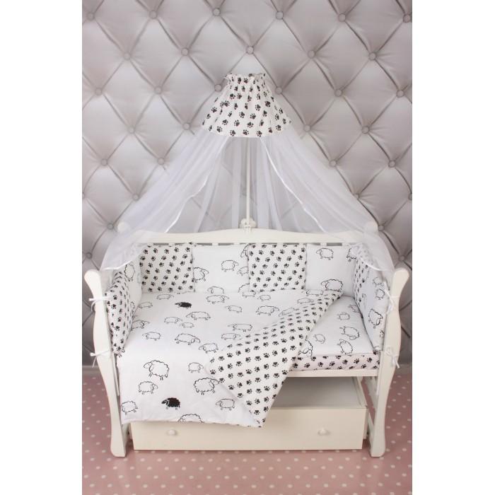 Комплект в кроватку AmaroBaby Premium Home Elite (19 предметов)