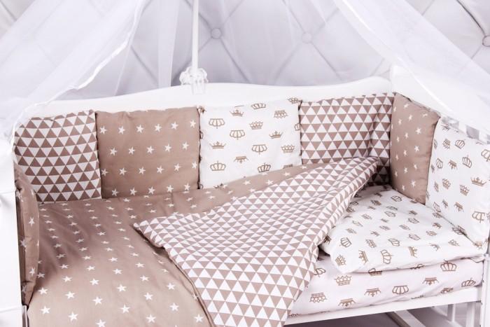 Бортики в кроватку AmaroBaby Royal Baby 12 подушек, Бортики в кроватку - артикул:479746
