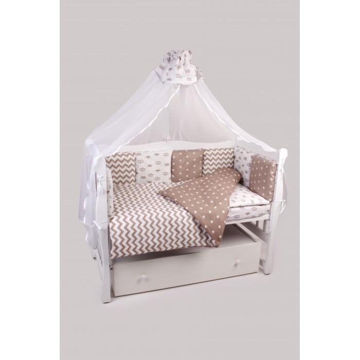 Комплекты в кроватку AmaroBaby Royal Baby (18 предметов) простынь 18