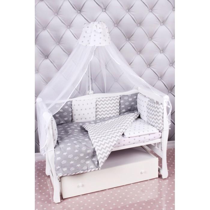 Комплект в кроватку AmaroBaby Royal Baby (18 предметов)