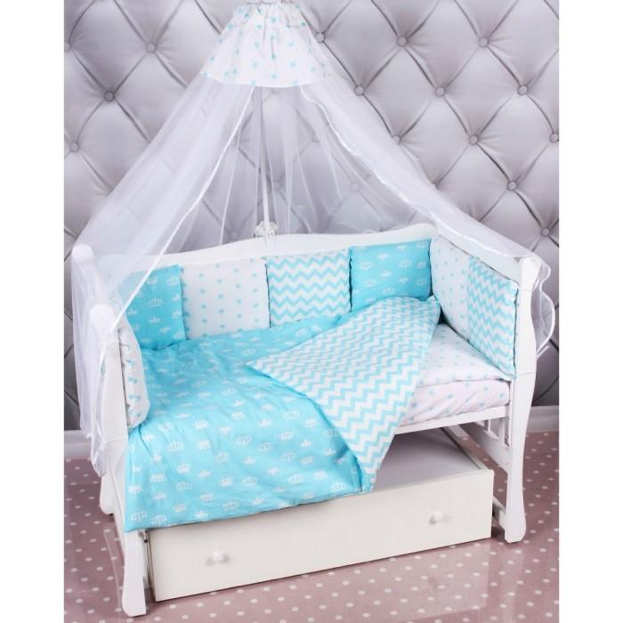 Комплект в кроватку AmaroBaby Royal Baby Premium (18 предметов)