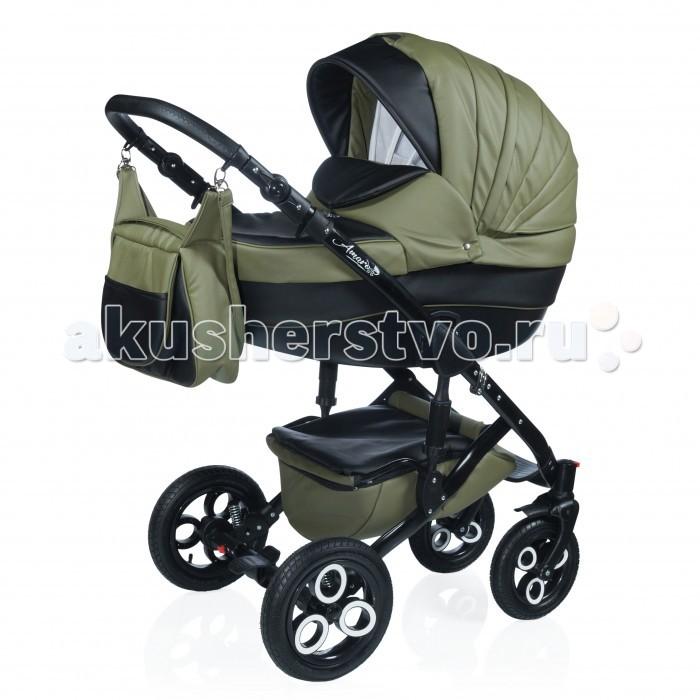 Детские коляски , Коляски 2 в 1 AmaroBaby Sport Style 2 в 1 Кожа арт: 393704 -  Коляски 2 в 1
