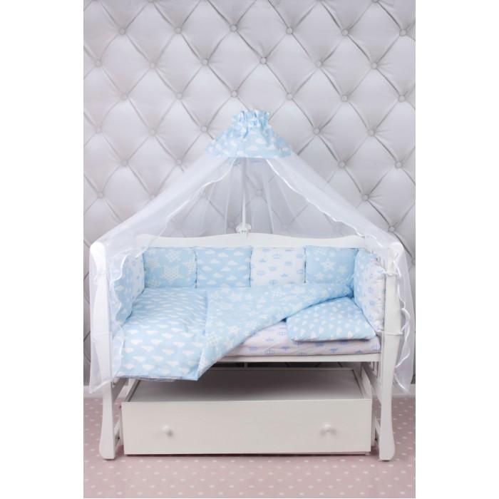 Комплект в кроватку AmaroBaby Воздушный Premium (19 предметов)