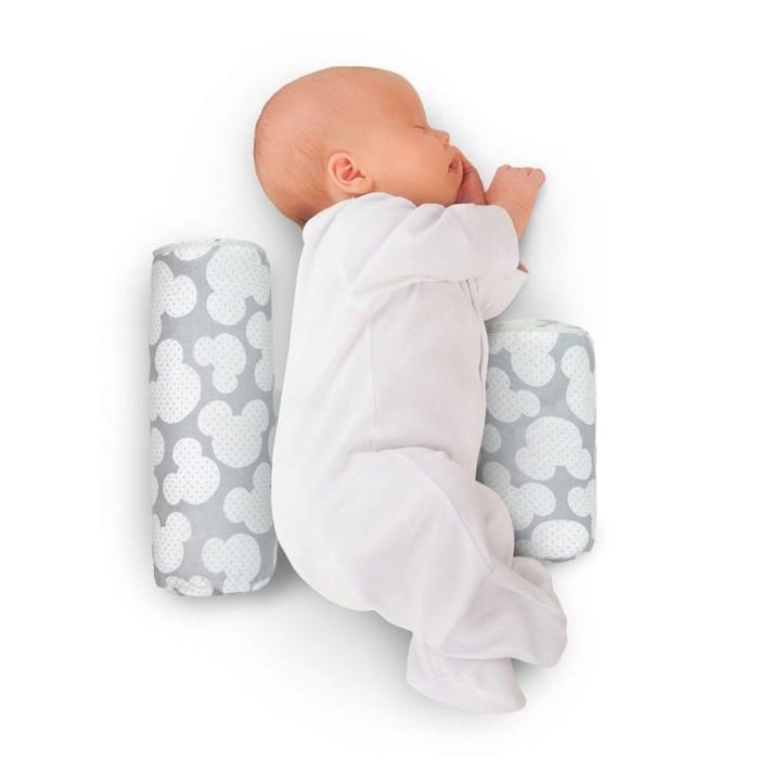 Купить Позиционеры для сна, AmaroBaby Валик-позиционер для боковой поддержки Nature Anatomy с лузгой гречихи Мышонок