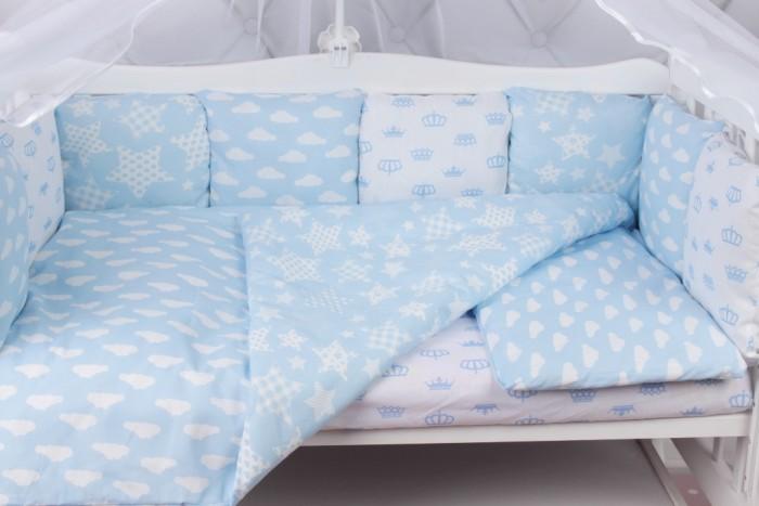 Бортики в кроватку AmaroBaby Воздушный 12 подушек, Бортики в кроватку - артикул:479766