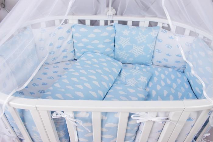 Комплекты в кроватку AmaroBaby Воздушный (15 предметов), Комплекты в кроватку - артикул:517321