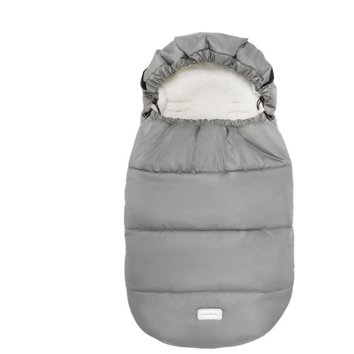 Купить Конверты для новорожденных, AmaroBaby Зимний конверт меховой Snowy Travel 105 см