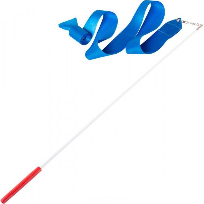 Спортивный инвентарь Amely Лента для художественной гимнастики AGR-201 6м с палочкой 56 см
