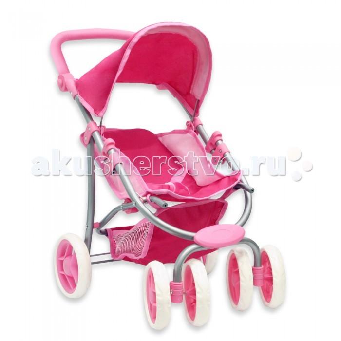 Коляска для куклы Ami&amp;Co (AmiCo) Прогулочная 9670Прогулочная 9670Ami&Co Коляска для кукол 9670 - одна из самых любимых игрушек у девочек.  Преимущества данной модели: Складной капюшон Регулируемое положение спинки Регулируемая по высоте ручка Корзина для игрушек снизу Трёхточечный ремень безопасности Сдвоенные передние колёса поворачиваются на 360°, что делает коляску очень манёвренной Тканевые элементы снимаются для стирки. Коляска легко складывается, удобна в хранении и транспортировке.  Размер коляски 56x35x57 см<br>