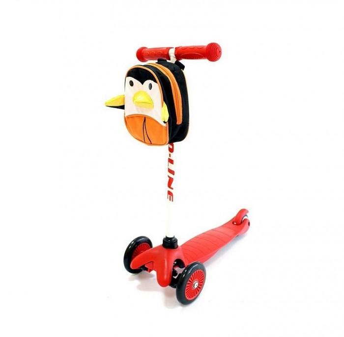 Детский транспорт , Трехколесные самокаты Amigo Explore Bliss без рюкзака арт: 401264 -  Трехколесные самокаты