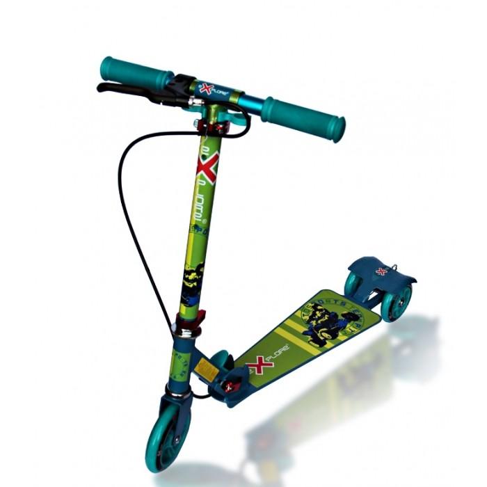 Трехколесные самокаты Amigo Roсket трехколесные самокаты smart trike скутер ski z7
