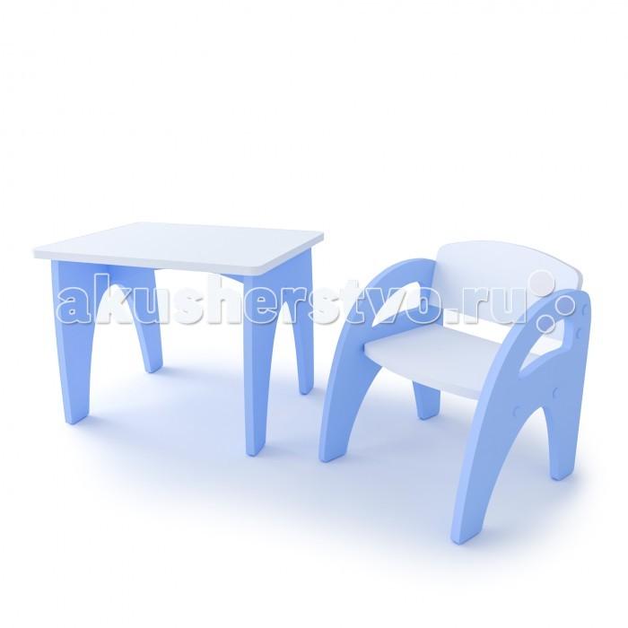 Детские столы и стулья Andiolly Комплект мебели Малыш