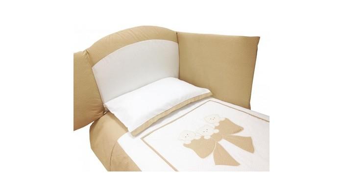 Комплекты в кроватку Andy & Helen Бантик длинный борт (7 предметов) ободок бантик сетка со стразами