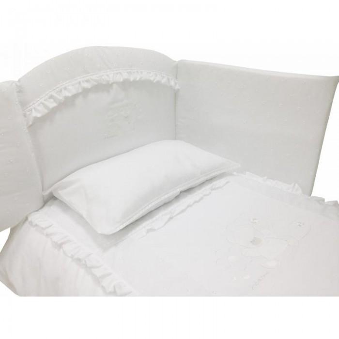 Картинка для Комплект в кроватку Andy & Helen Медвежонок с кристаллами короткий борт (7 предметов)