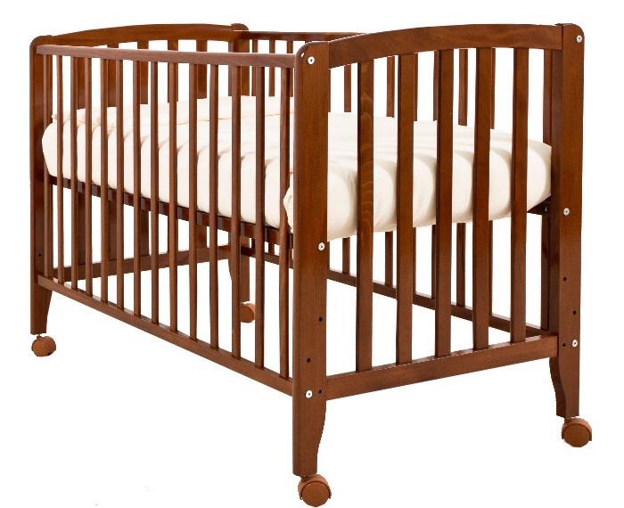 Детская кроватка Angela Bella БьянкаБьянкаДетская кроватка Angela Bella Бьянка  Простота сборки и классический дизайн - вот несомненные преимущества кроватки Бьянка.  Кроватка изготовлена из натуральной древесины бука, одного из лучших материалов для детской мебели. Заботясь о безопасности вашего ребенка, производитель выбрал только безвредные лаковые покрытия на водной основе.  Колесики позволят с удобством перемещать кроватку по квартире.   Кроватка имеет три уровня дна, а также когда малыш подрастет, переднюю стенку можно будет снять.   Характеристики  4 колеса  реечное дно  древесина обработана экологически чистым лаком  отсутствуют острые углы   боковина не опускаемая, съемная  три уровня ложа по высоте От производителя: Продукция изготовлена из ценной породы древесины - Бук, с применением новейших технологий. Для окраски применяются лаки, не содержащие вредных для здоровья ребенка веществ. Контроль качества производится непосредственно при сборке каждого элемента конструкции. Вся продукция сертифицирована и соответствует Государственному Стандарту.<br>