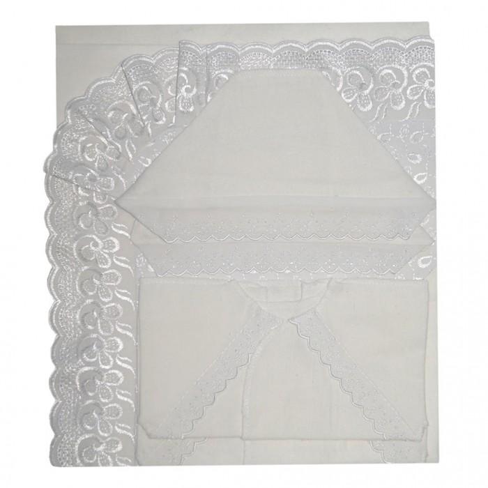 Комплекты на выписку Ангелочки 10011 (7 предметов) комплекты в кроватку ангелочки 5711 7 предметов