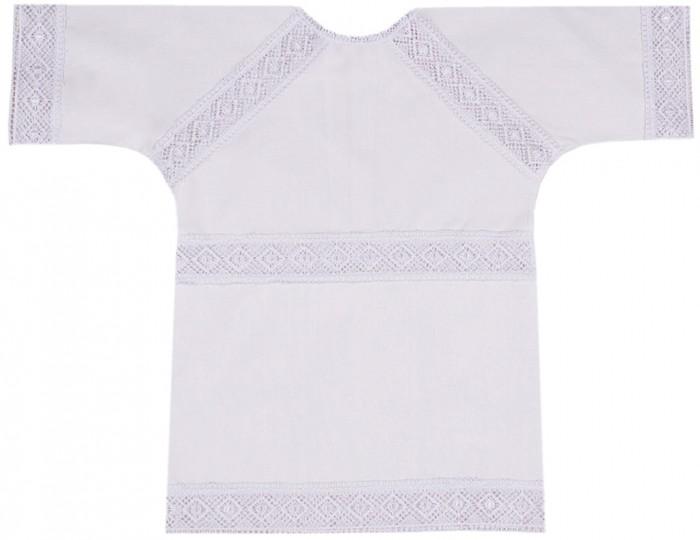 Крестильная одежда Ангелочки Крестильная рубашка универсальная № 3
