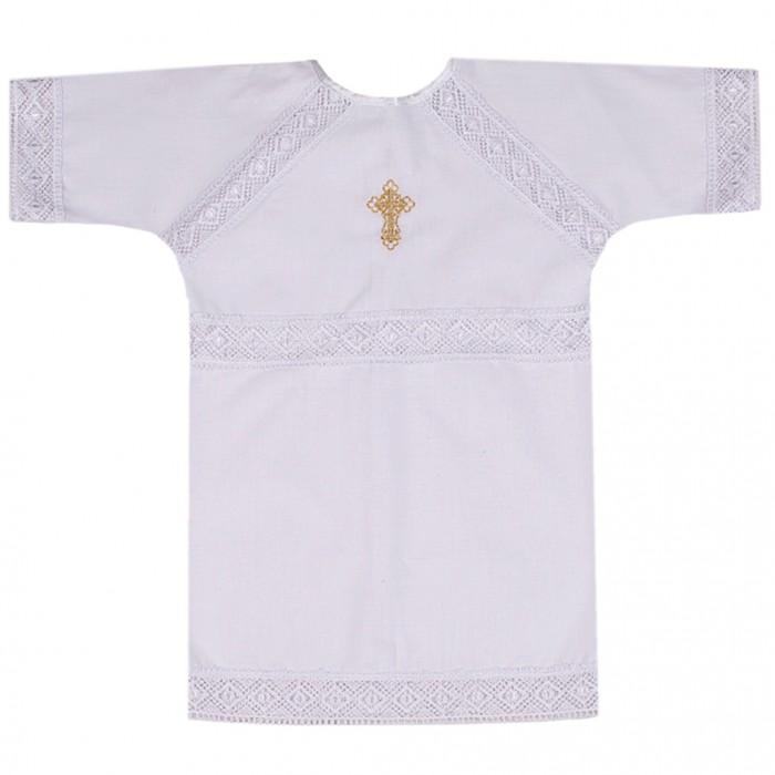 Крестильная одежда Ангелочки Крестильная рубашка универсальная №4