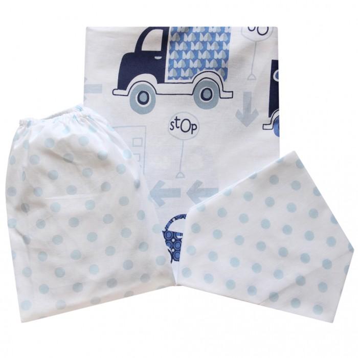 Купить Постельное белье Ангелочки Машинки (3 предмета)