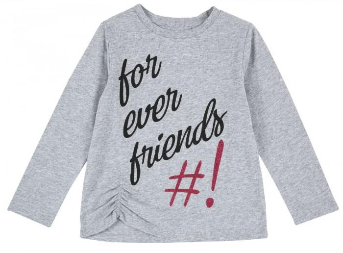 Купить Водолазки и лонгсливы, Chicco Лонгслив для девочки For ever friends
