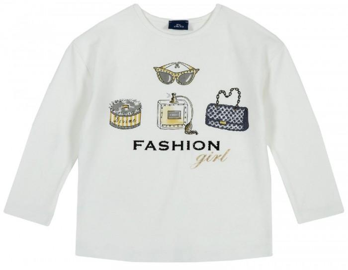 Водолазки и лонгсливы Chicco Лонгслив для девочки Fashion girl