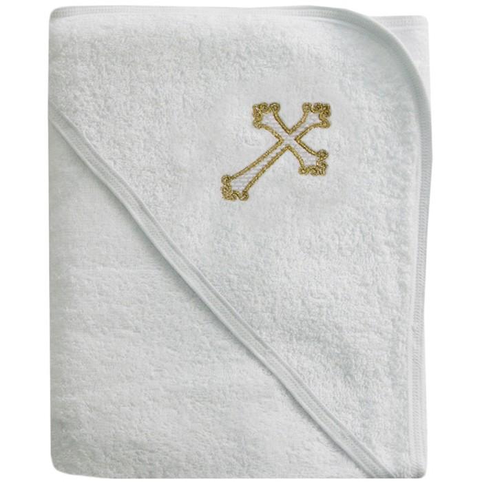 Ангелочки Полотенце для крещения с вышивкой 100х100 см от Ангелочки