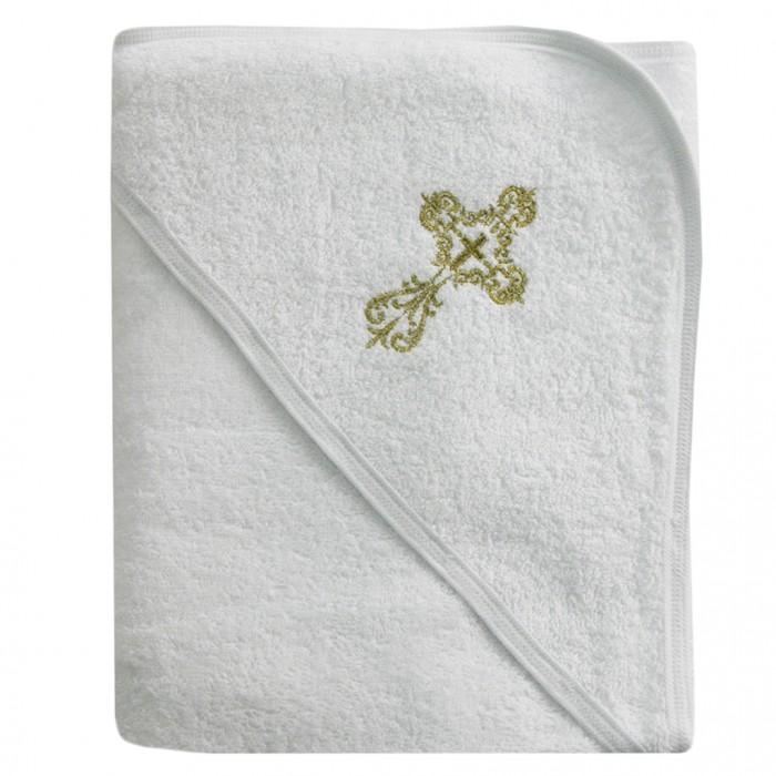 Крестильная одежда Ангелочки Полотенце для крещения с вышивкой