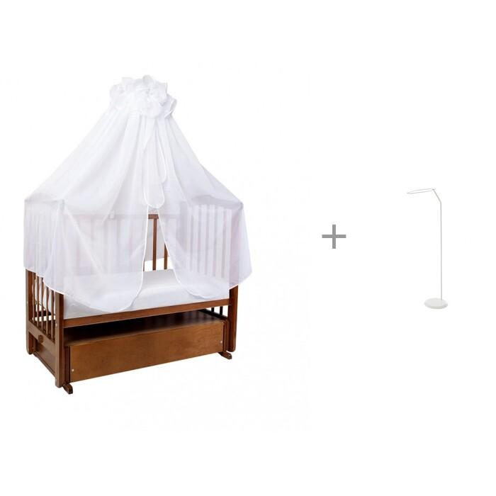 Балдахины для кроваток Ангелочки универсальный в сумке и Держатель Geuther напольный