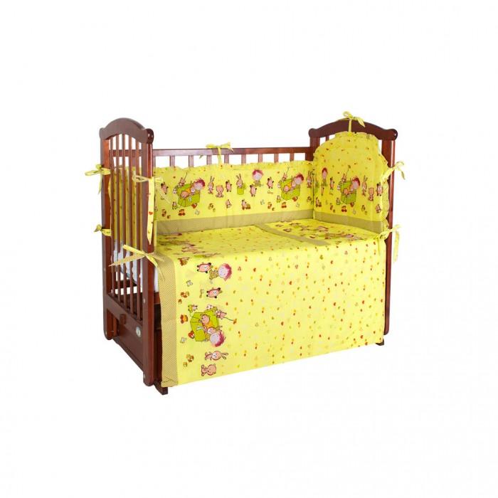 Купить Комплекты в кроватку, Комплект в кроватку Ангелочки 5420 (4 предмета)