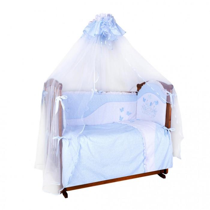 Комплекты в кроватку Ангелочки Бабочки (7 предметов) комплекты в кроватку mummys hugs нежность 120х60 см 7 предметов