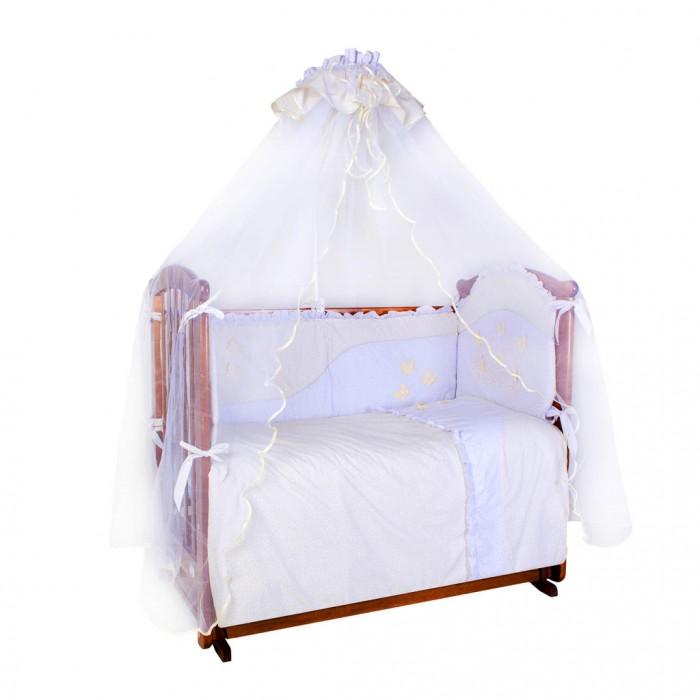 Комплект в кроватку Ангелочки Бабочки (7 предметов)
