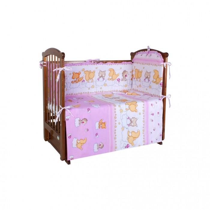 Комплекты в кроватку Ангелочки 5430 (4 предметов) комплекты в кроватку ангелочки 5711 7 предметов