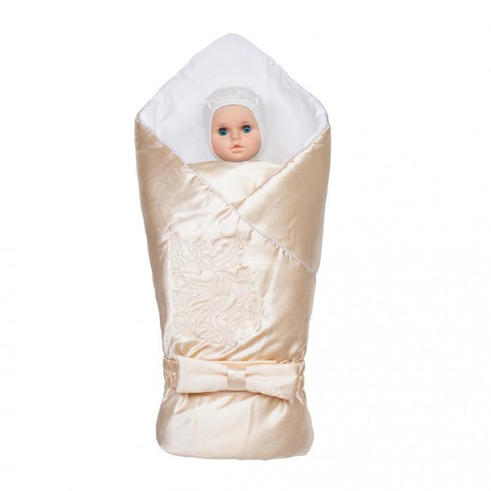 Ангелочки Конверт-одеяло Птица с вышивкой
