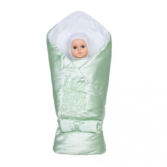 Ангелочки Конверт-одеяло Птица с вышивкой от Ангелочки