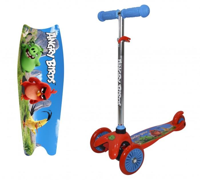 Трехколесные самокаты Angry Birds регулируемый руль Т11697, Трехколесные самокаты - артикул:511186