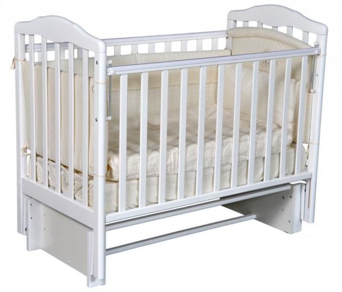 Детская кроватка Антел Алита 3/5 автостенка маятник универсальный