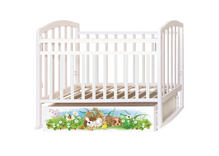 Детские кроватки Антел Алита 4 Щенки (маятник поперечный) детские кроватки kitelli kito orsetto качалка