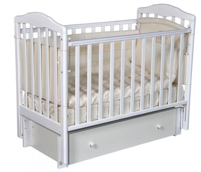 Купить со скидкой Детская кроватка Антел Алита 4/6 универсальный маятник